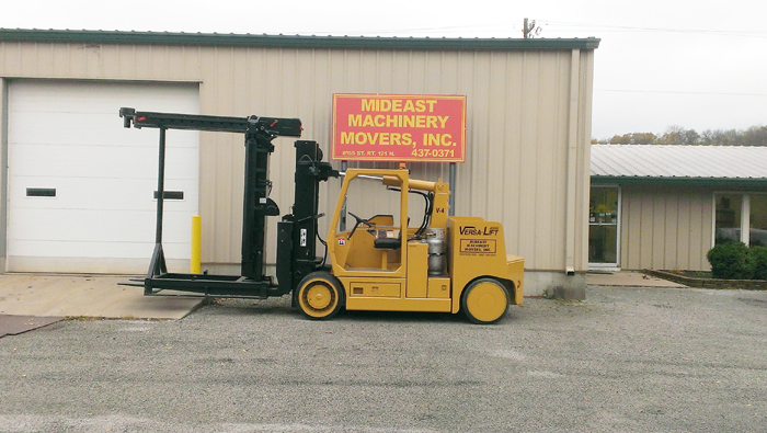 Mideast Machinery Movers Versa Lift